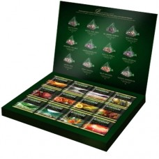 "Чай Greenfield набор ""Pyramid Tea Collection"" 60п*2г (12 видов) (пирамидки)"