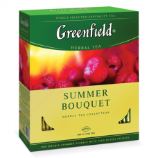 "Чай Greenfield ""Summer Bouquet"" 100п*2г"
