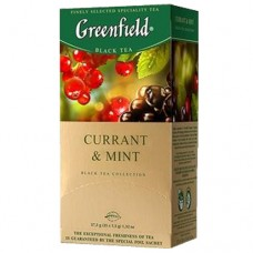 "Чай Greenfield ""Currant & Mint"" 25п*1,5г"