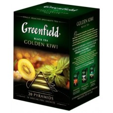 "Чай Greenfield ""Golden Kiwi"" 20п*1,8г (пирамидки)"
