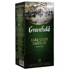 "Чай Greenfield ""Earl grey fantasy"" c бергамотом 25п*1,5г"