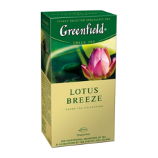 "Чай Greenfield ""Lotus Breeze"" 25п*1,5г"