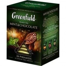 "Чай Greenfield ""Mint&Chocolate"" 20п*1,8г (пирамидки)"