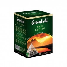 "Чай Greenfield ""Rich Ceylon"" 20п*1,8г (пирамидки)"