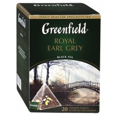 "Чай Greenfield ""Royal Earl Grey"" 20п*1,8г (пирамидки)"