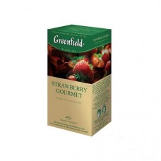 "Чай Greenfield ""Strawberry Gourmet"" 25п*1,5г"