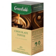 "Чай Greenfield ""Chocolate Toffee"" 25п*1,5г"
