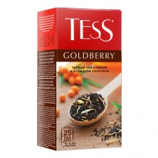 "Чай Tess ""Goldberry"" с ароматом облепихи и айвы 25п*1,5г"